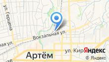 Артемовский Бетонный Завод на карте