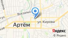 Отдел по Артемовскому городскому округу департамента труда и социального развития Приморского края на карте