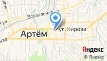 Артем-ТВ на карте