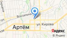 Стоматологическая поликлиника г. Артема на карте