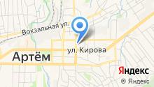 Артемовская коллегия адвокатов Приморского края на карте