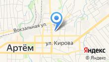 Semechko на карте
