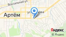 Артемовская управляющая компания на карте