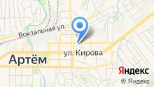 Сельскохозяйственное предприятие Артемовское на карте