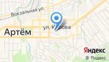 Отдел вневедомственной охраны Управления МВД России по г. Артему на карте
