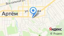 Гео-центр на карте