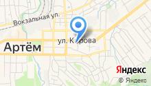 Общественная приемная депутата Думы Артемовского городского округа Касецкого Ю.Г. на карте