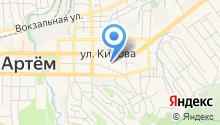 Совет ветеранов войны (пенсионеров), труда, вооруженных сил и правоохранительных органов Артемовского городского округа на карте