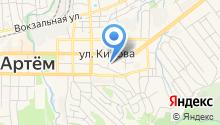 Общественная приемная депутата законодательного собрания Приморского края Чемериса И.С. на карте