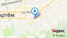 Артемовский квас-лимонадный завод на карте