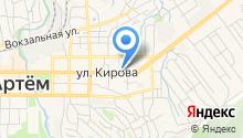 Администрация Артемовского городского округа на карте