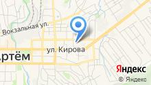 Артемовская автомобильная школа ДОСААФ на карте