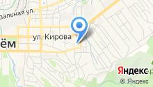 Автомойка на ул. Каховского на карте
