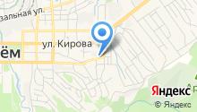 Баня на ул. Каховского на карте