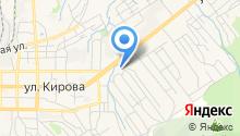 Автомойка на Чкалова на карте