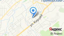 Приморский краевой противотуберкулезный диспансер на карте