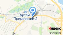 Автомикс ДВ на карте