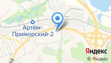 Артём на карте