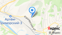 Артем ГРЭС на карте