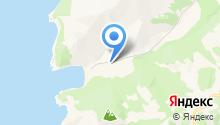 Бухта Отрада на карте