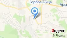 Бокситогорская на карте