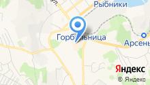 Кавказская тандырная на карте