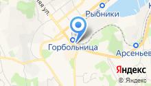 Автоэлектрон на карте