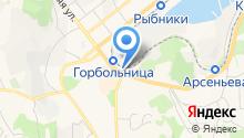 Stop line на карте