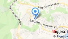 Автостоянка на Владивостокской на карте