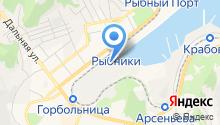 Лазурная-2, ЗАО на карте