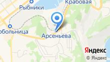 Автомойка на ул. Пирогова на карте