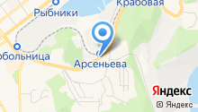 Автомойка на карте