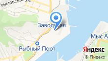 Аварийно-спасательное подразделение порт Находка на карте