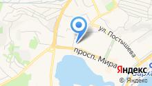 Кот Леопольд на карте