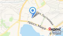Дальневосточный федеральный университет на карте