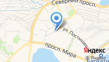 ВДК на карте