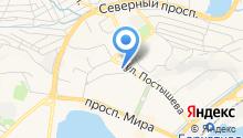 Городской родильный дом на карте