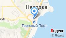 ЕВРАЗ Находкинский морской торговый порт на карте