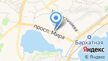 ВОИН на карте