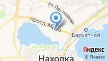 Аллигашка на карте