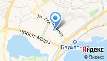 Азимут-А на карте