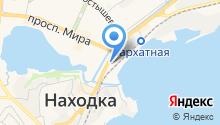 Bus курьер на карте