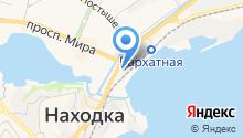 Skim-line на карте