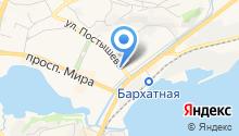 Бондаренко А.В. и соратники на карте