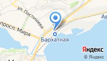 Блиноф на карте