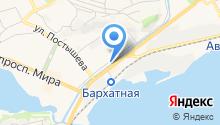 Городская платежная служба на карте