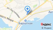 Sata на карте