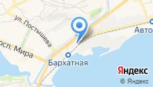 ДВС-Сервис на карте