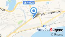 Алекма на карте