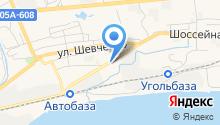 Автокомплекс на Шоссейной на карте